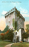 Cork - Blarney - Castle, Entrance to the Keep (old colour Irish photo)