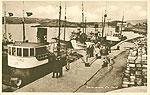 Cork - Baltimore - Harbour & Boats (old b/w Irish photo)