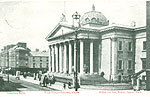 Cork - Cork City - The Courthouse (old b/w Irish photo)