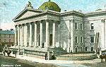 Cork - Cork City - The Courthouse (old colour Irish photo)