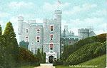 Down - Castlewellan - The Castle (old colour Irish photo)