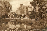Dublin - Howth - Howth Castle (old b/w Irish photo)