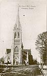 Dublin North - Phibsboro - St Peters RC Church (old b/w Irish photo)