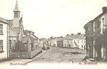 Fermanagh - Brookeborough - Street view (old b/w Irish photo)