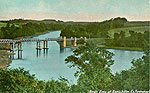 Fermanagh - Enniskillen - River Erne at Enniskillen