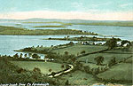 Fermanagh - Enniskillen - Lower Lough Erne (old colour Irish photo)