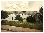 Fermanagh - Enniskillen - photochrome (old Irish image)