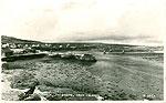 Galway - Aran Islands - Killeaney Harbour, Inishmore (old b/w Irish photo)