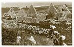 Galway - Aran Islands - Seven Churches, Inishmore (old b/w Irish photo)
