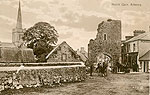Galway - Athenry - North Gate, Athenry (old b/w Irish photo)
