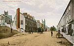 Galway - Ballinasloe - Society Street (old colour Irish photo)