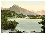 Galway - Ballinahinch old photochrome (Irish image)