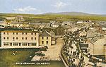 Kerry - Ballybunion - Town view (old colour Irish photo)