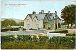 Leitrim - Dromahair - The Abbey Hotel (old colour Irish photo)