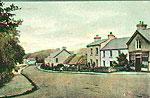Leitrim - Dromahair - Town view (old colour Irish photo)