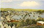 Leitrim - Manorhamilton - Town view (old colour Irish photo)