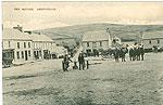 Limerick - Abbeyfeale - The Square (old b/w Irish photo)