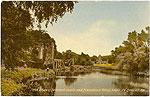 Limerick - Adare - Desmond Castle (old colour Irish photo)
