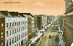 Limerick - Limerick City - George Street (old colour Irish photo)