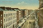 Limerick - Limerick City - George ST (old colour Irish photo)