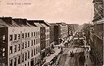 Limerick - Limerick City - George St (old b/w Irish photo)