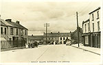Limerick - Rathkeale - Market Square (old b/w Irish photo)