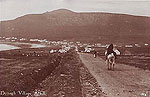 Mayo - Dooagh Village in Achill - old print