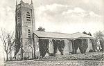 Monaghan - Ballybay - Christ Church (old b/w Irish photo)
