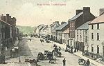 Monaghan - Castleblaney - West St (old colour Irish photo)