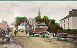 Monaghan - Clones - Church Hill (old colour Irish photo)