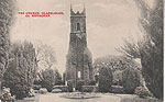 Monaghan - Glasslough - The Church (old Irish photo)