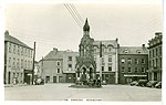 Monaghan - Monaghan Town - The Diamond (old colour Irish photo)