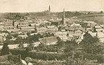 Monaghan - Monaghan Town - Monaghan from South (old b/w Irish photo)
