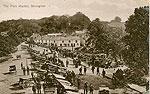 Monaghan - Monaghan Town - The Pork Market (old colour Irish photo)