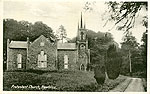 Monaghan - Newbliss - Protestant Church (old b/w Irish photo)