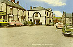 Monaghan - Rockcurry - Main st (old colour Irish photo)