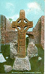 Offaly - Clonmacnoise - Ancient Cross