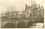 Sligo Town - The Bridge (old b/w Irish photo)