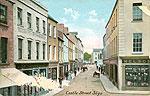 Sligo Town - Castle Street (old colour Irish photo)