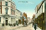 Sligo Town - Knox Street (old colour Irish photo)