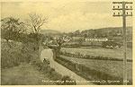 Tyrone - Donemana - Road to Donemana (old b/w Irish photo)