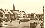 Tyrone - Dungannon - The Square (old b/w Irish photo)