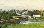 Tyrone - Moy - Town view (old colour Irish photo)