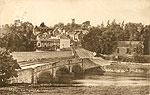 Tyrone - Moy - Bridge and Town (old b/w Irish photo)