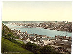 Waterford City from North West (great town view)
