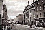 Waterford City - Barronstrand Street b/w (old Irish photograph)