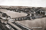 Waterford City - Viewed from the West (old Irish vintage print)