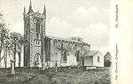 Westmeath - Kilbeggan - The Church (old b/w Irish photo)
