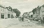 Westmeath - Moate - Main Street (old b/w Irish photo)
