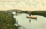 Westmeath - Mullingar - Lough Ennel Bridge (old colour Irish photo)